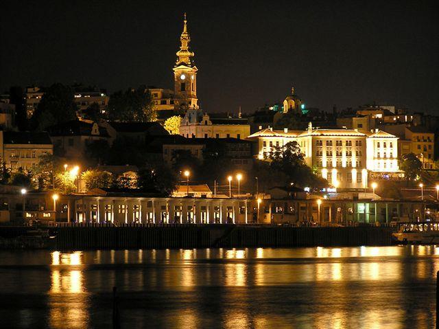 Belgrad by night