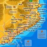 Harta Costa Brava