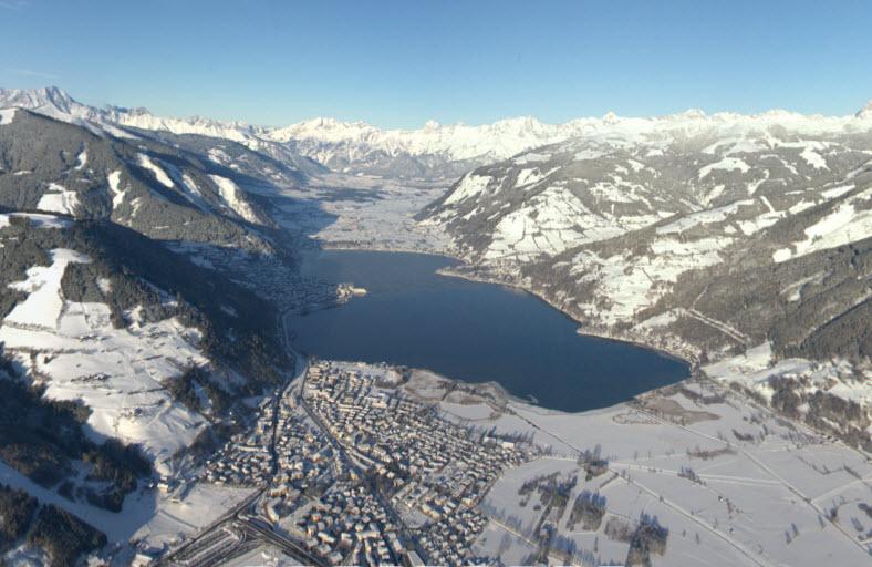 Vedere de pe Kitzsteinhorn, 3000 m